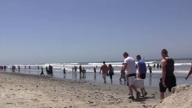 Chillin on a So Cal beach