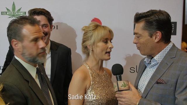 Sadie Katz stoned at Oscars