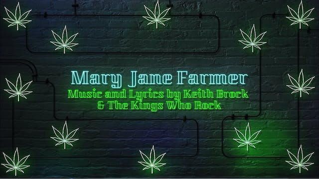 """Mary Jane Farmer"" 4/20 by Keith Broc..."