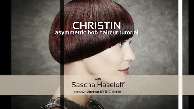 ICONO christin - HAIRCUT TUTORIAL