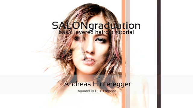 SALON graduation - HAIRCUT TUTORIAL