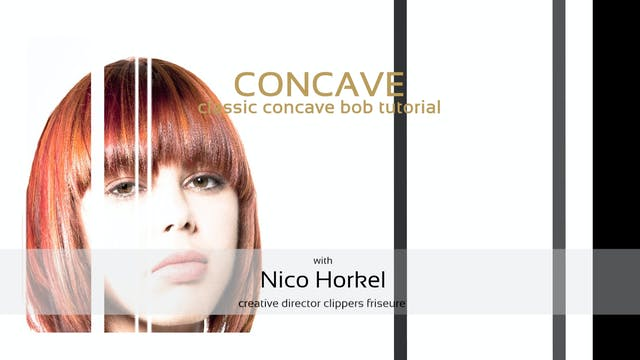 CONCAVE bob - HAIRCUT TUTORIAL