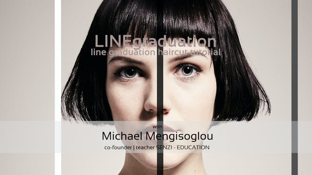 LINE graduation - HAIRCUT TUTORIAL