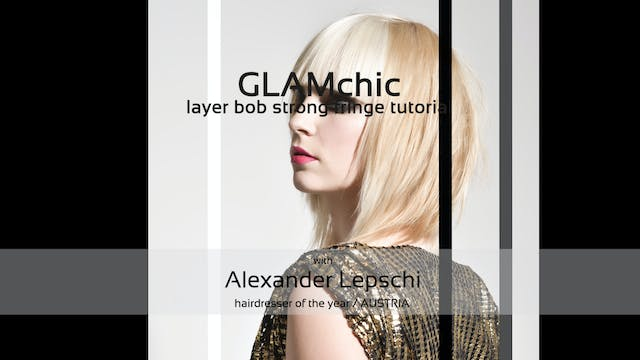 GLAM chic - HAIRCUT TUTORIAL