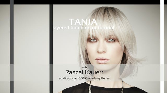 ICONO tanja - HAIRCUT TUTORIAL