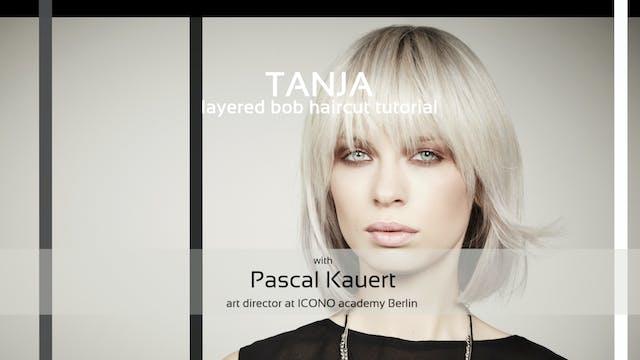 ICONO tanja - HAIRCUT TUTORIAL