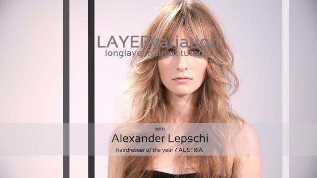 LAYER variation - HAIRCUT TUTORIAL
