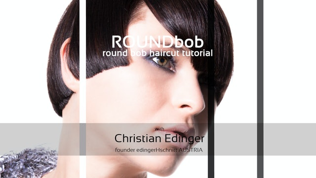 ROUND bob - HAIRCUT TUTORIAL
