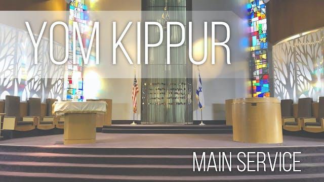 Main Service: Yom Kippur at 10:00am P...
