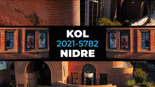 Live Studio Broadcast Service - Kol Nidre (Erev Yom Kippur)