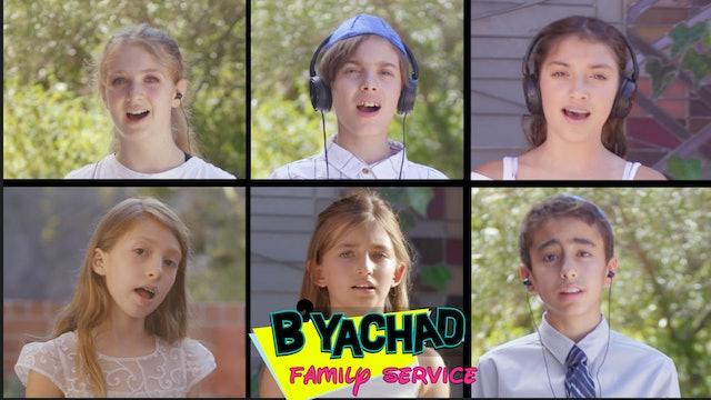 B'Yachad Family Service (Elementary) Rosh Hashanah Day 1 - Watch Anytime