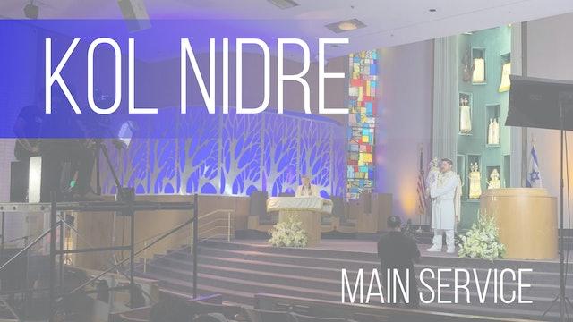 Main Service: Kol Nidre (Erev Yom Kippur)