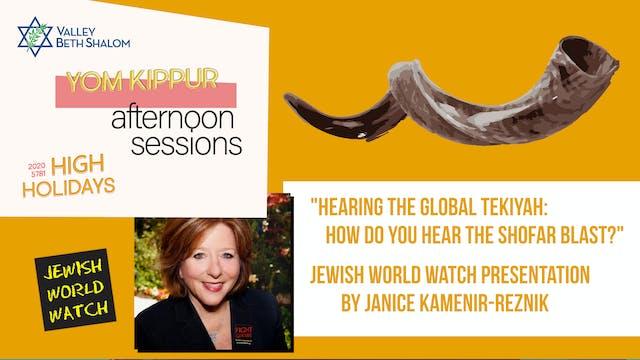 """Hearing the Global Tekiyah: How Do Y..."