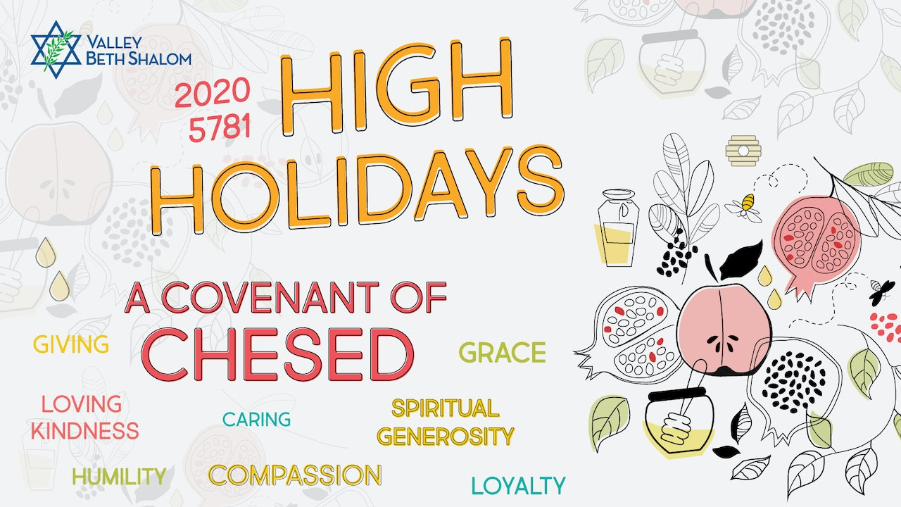 High Holidays 2020 - Watch Now