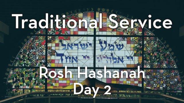 Traditional Service: Rosh Hashanah Da...