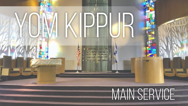 Main Service: Yom Kippur at 10am SECO...