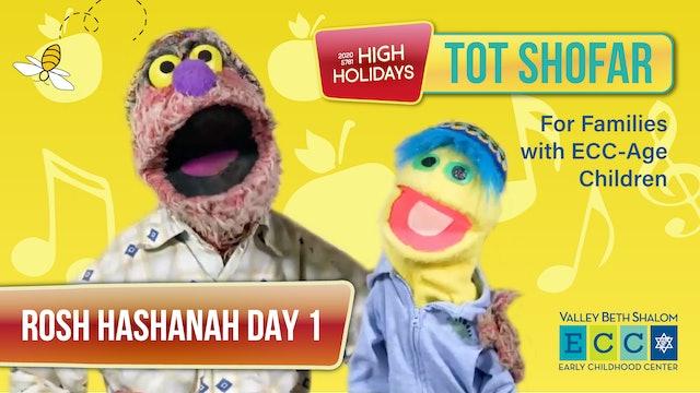 Tot Shofar ECC Service (Preschool) - Rosh Hashanah Day 1 - Watch Anytime