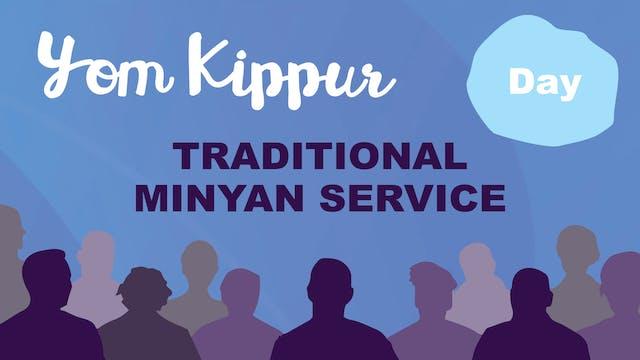 Traditional Minyan Service - Yom Kipp...