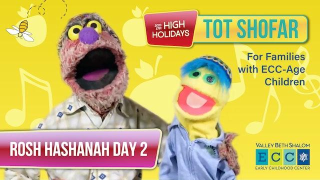Tot Shofar ECC Service (Preschool) - Rosh Hashanah Day 2 - Watch Anytime