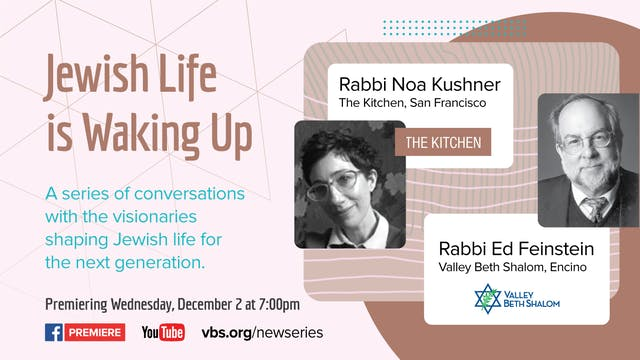 Jewish Life is Waking Up: An Introduc...