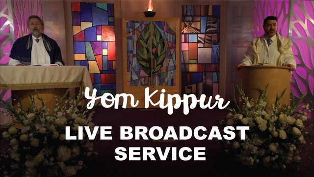 Live Broadcast Service - Yom Kippur at 10:00am