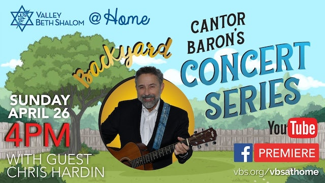 Backyard Concert Series with Chris Hardin - April 26, 2020