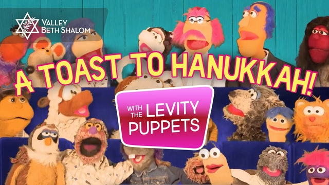 A Toast to Chanukkah starring The Levity Puppets