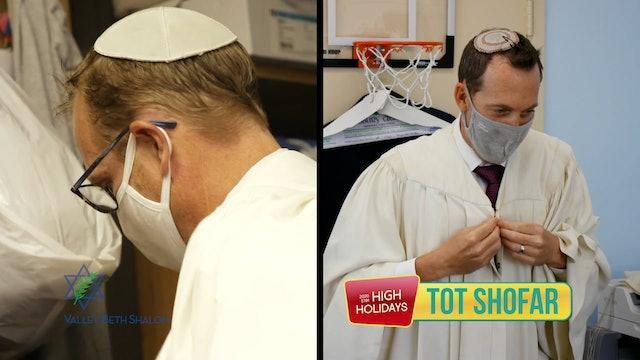Tot Shofar (Preschool) Rosh Hashanah Day 1 2021 - Watch Anytime