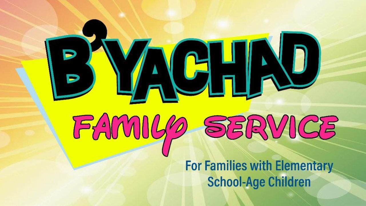 B'Yachad Family Service - High Holidays 2021