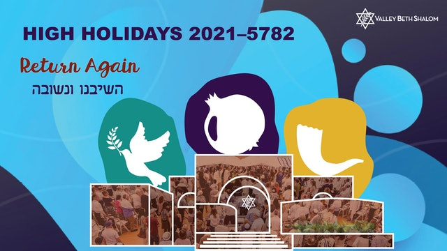 High Holidays 2021/5782 - All Online Service Options