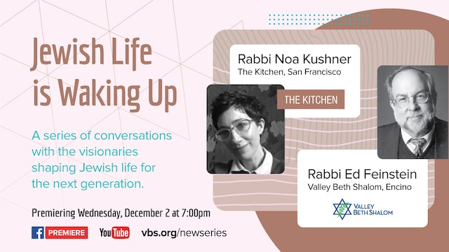 Jewish Life is Waking Up: A New Series