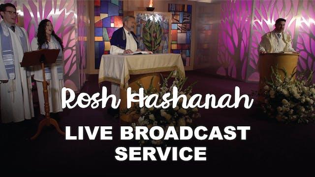 Live Broadcast Service - Rosh Hashana...