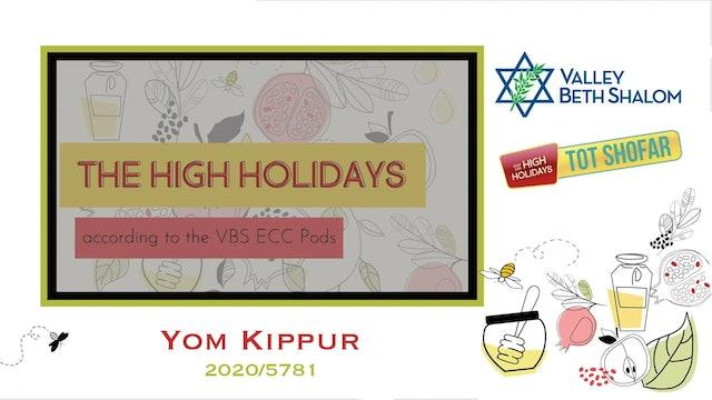 Tot Shofar Yom Kippur 2021 - Watch Anytime