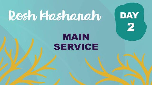 Main Sanctuary Service - Rosh Hashana...