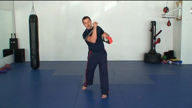 Footwork and Tight Quarters Training