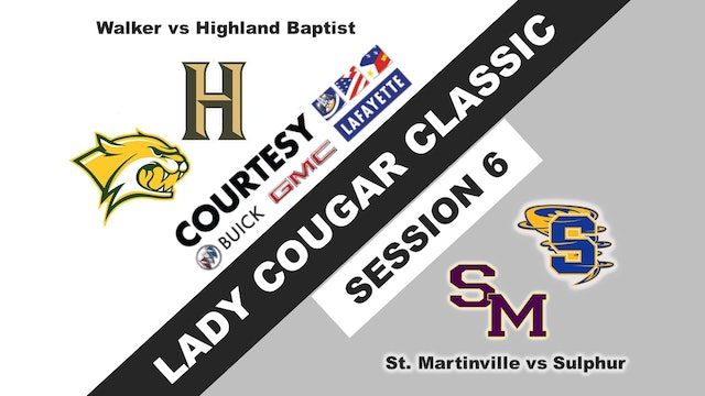 Lady Cougar Classic: Session 6