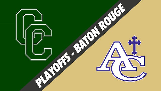 Baton Rouge: Cedar Creek vs Ascension...
