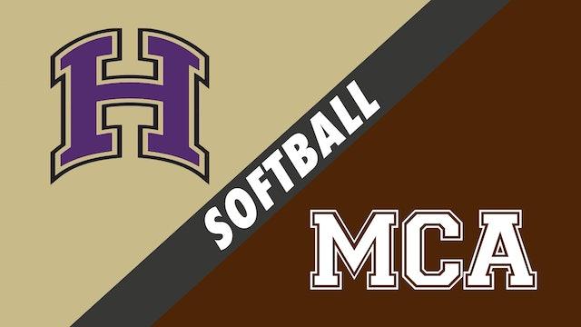 Softball: Hahnville vs Mount Carmel