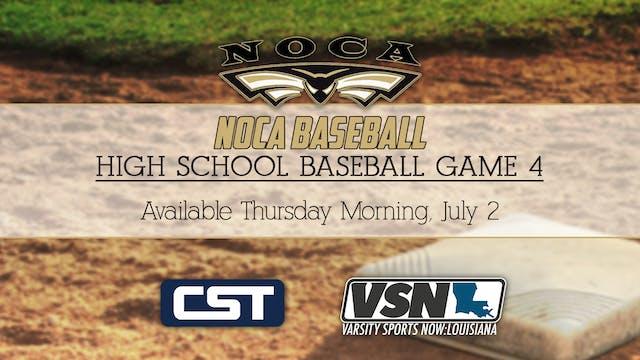 NOCA Baseball: Game 4