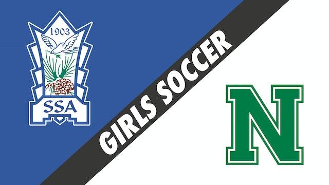Girls Soccer: St. Scholastica Academy vs Newman