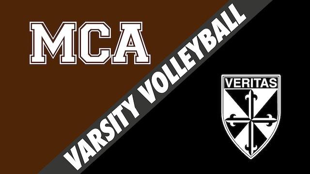 Varsity Volleyball: Mount Carmel vs Dominican