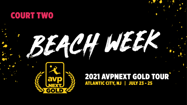 AVPNext Gold Tournament: Court Two- Sunday Afternoon