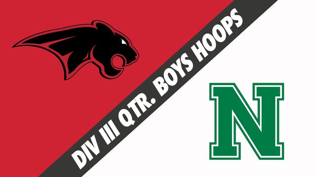 Div III Quarterfinals Boys Basketball...