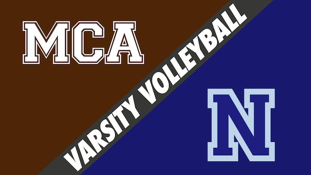 Varsity Volleyball: Mount Carmel vs N...
