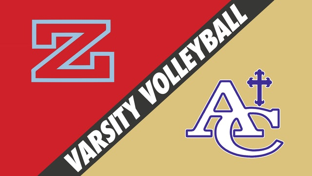 Varsity Volleyball: Zachary vs Ascension Catholic