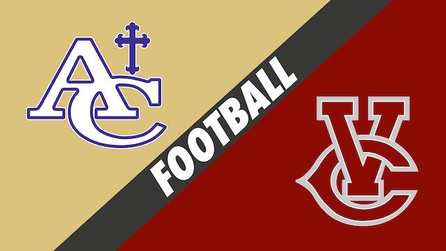 Football: Ascension Catholic vs Vermilion Catholic