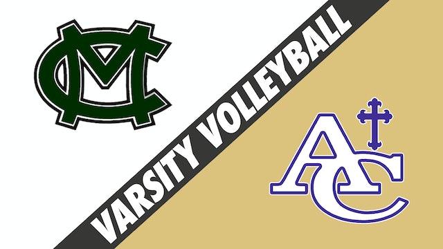 Varsity Volleyball: Morgan City vs Ascension Catholic