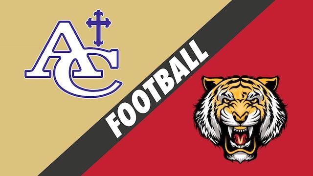 Football: Ascension Catholic vs East Iberville