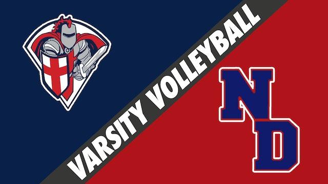 Varsity Volleyball: Lafayette Christian Academy vs Notre Dame