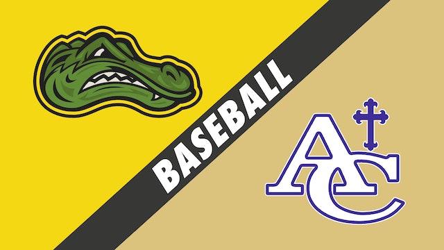 Baseball: St. Amant vs Ascension Catholic